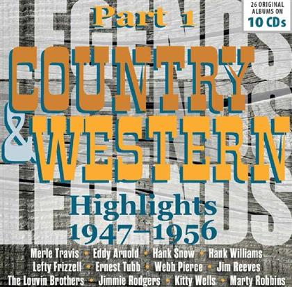 Country Original Albums (10 CDs)