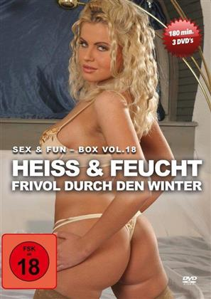 Heiss & Feucht - Frivol durch den Winter - Sex & Fun Box - Vol. 18 (3 DVDs)