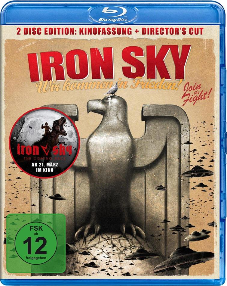 Iron Sky (2012) (Director's Cut, Kinoversion, 2 Blu-rays)