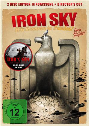 Iron Sky - Wir kommen in Frieden (2012) (Director's Cut, Kinoversion, 2 DVDs)