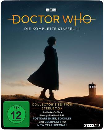 Doctor Who - Staffel 11 (Collector's Edition, Steelbook, 3 Blu-rays)