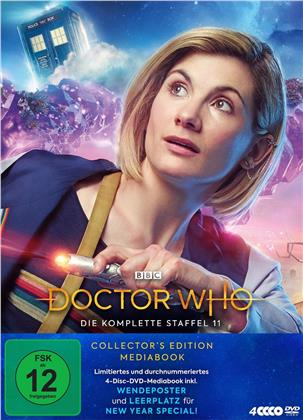 Doctor Who - Staffel 11 (Collector's Edition, Mediabook, 4 DVDs)