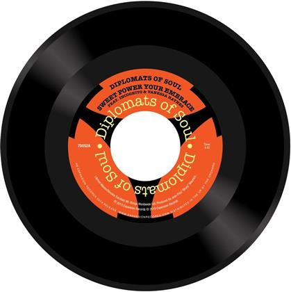 "Diplomats Of Soul - Sweet Power Your Embrace / Brighter Tomorrow (7"" Single)"