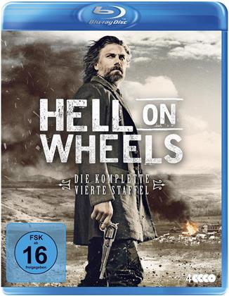 Hell on Wheels - Staffel 4 (Neuauflage, 4 Blu-rays)