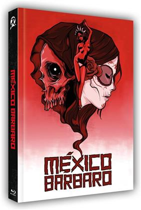 Mexico Barbaro (2014) (Cover A, Limited Edition, Mediabook, Uncut, Blu-ray + DVD)