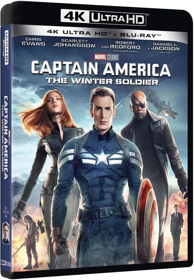 Captain America 2 - The Winter Soldier (2014) (4K Ultra HD + Blu-ray)