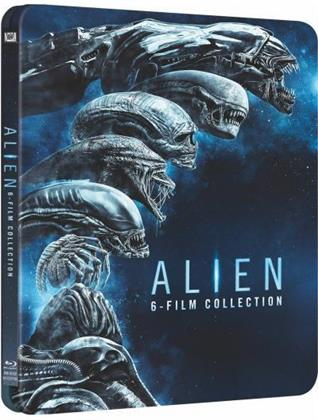 Alien - 6-Film Collection (Limited Edition, Steelbook, 6 Blu-rays)
