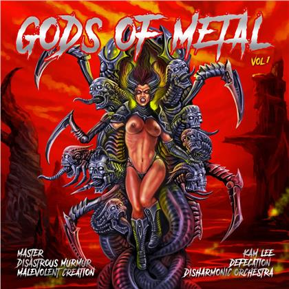 Gods Of Metal Vol. 1 (LP)