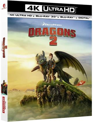 Dragons 2 (2014) (4K Ultra HD + Blu-ray 3D + Blu-ray)