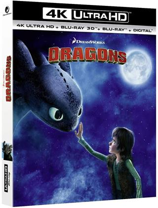 Dragons (2010) (4K Ultra HD + Blu-ray 3D + Blu-ray)