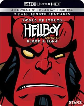 Hellboy Animated - Sword of Storms / Blood & Iron (4K Ultra HD + Blu-ray)