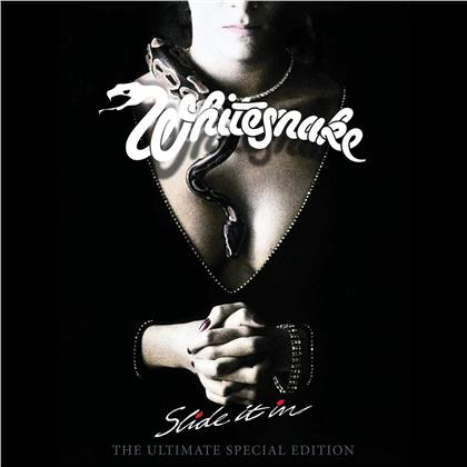 Whitesnake - Slide It In (2019 Reissue, Boxset, Remastered, Ultimate Edition, CD + DVD)