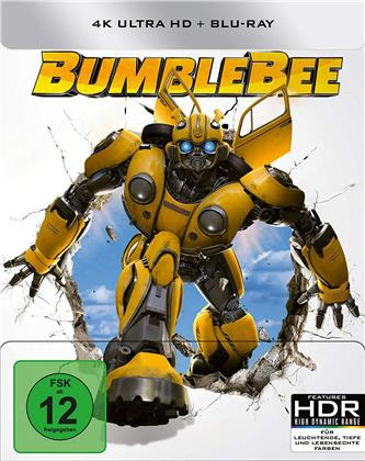 Bumblebee (2018) (Limited Edition, Steelbook, 4K Ultra HD + Blu-ray)