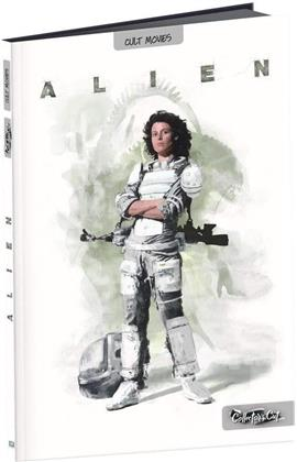 Alien (1979) (Collector's Cut, Digibook, Director's Cut, Kinoversion, Blu-ray + DVD)