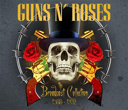 Guns N' Roses - The Broadcast Collection 1988-92 (4 CDs)
