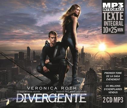 Veronica Roth - Divergente (Integrale Mp3), Lu Par Marine Royer (3 CDs)
