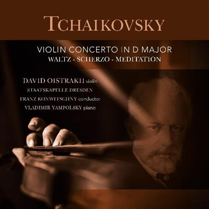 Peter Iljitsch Tschaikowsky (1840-1893), Franz Konwitschny, David Oistakh & Staatskapelle Dresden - Violin Concerto In D Major (Vinyl Passion, LP)
