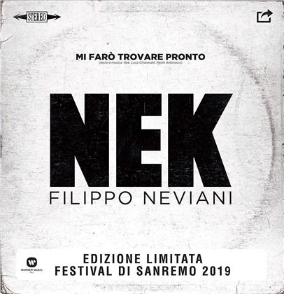 "Nek - Mi Faro Trovare Pronto (Limited Edition, White Vinyl, 7"" Single)"