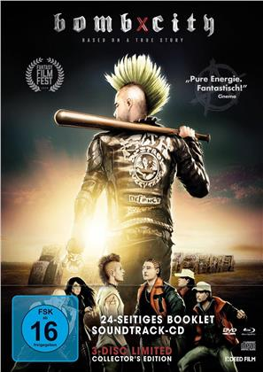 Bomb City (2017) (Limited Edition, Mediabook, 2 Blu-rays + 4K Ultra HD)