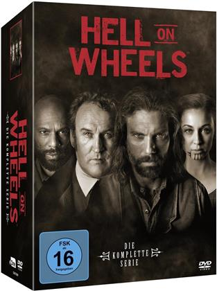 Hell on Wheels - Die komplette Serie (13 DVDs)