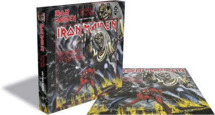 Iron Maiden - The Number Of The Beast (500 Piece Jigsaw Puzzle)
