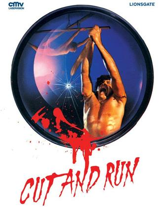 Cut and Run (1985) (Cover B, Limited Edition, Mediabook, Uncut, Blu-ray + DVD)