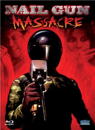 Nail Gun Massacre (1985) (Cover A, Limited Edition, Mediabook, Uncut, Blu-ray + DVD)