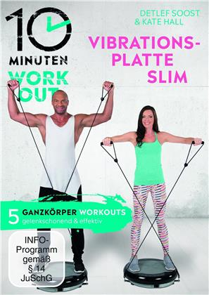 10 Minuten Workout - Vibrationsplatte Slim