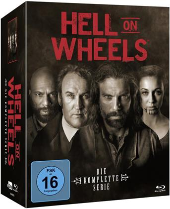 Hell on Wheels - Die komplette Serie (13 Blu-rays)