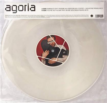"Agoria - Embrace & Youre Not Alone - Remixes (7"" Single)"