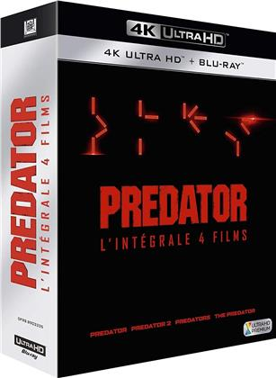 Predator: 1-4 Collection - Predator / Predator 2 / Predators / The Predator (4 4K Ultra HDs + 4 Blu-rays)