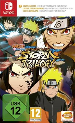 Naruto Ultimate Ninja Storm Trilogy - [Code in a Box]