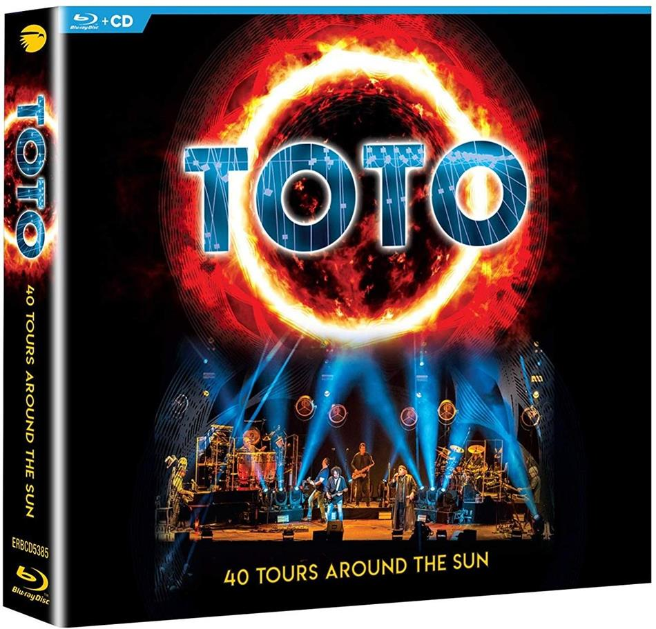 Toto - 40 Tours Around The Sun (2 CDs + Blu-ray)