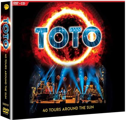 Toto - 40 Tours Around The Sun (2 CDs + DVD)