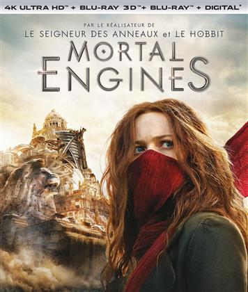 Mortal Engines (2018) (4K Ultra HD + Blu-ray 3D + Blu-ray)