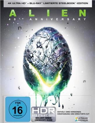 Alien (1979) (40th Anniversary Edition, Director's Cut, Kinoversion, Limited Edition, Steelbook, 4K Ultra HD + Blu-ray)