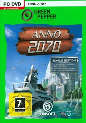 Green Pepper: Anno 2070 (Bonusedition)