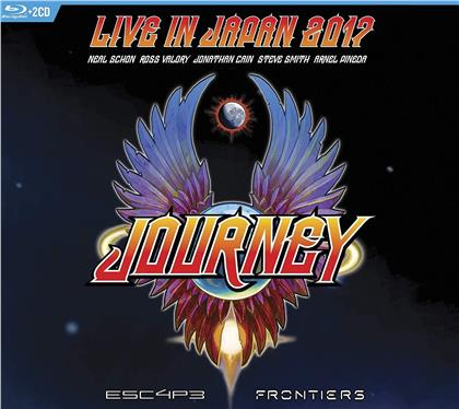 Journey - Escape & Frontiers Live In Japan (2 CDs + Blu-ray)