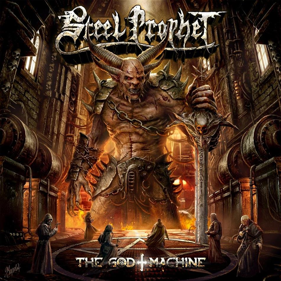 Steel Prophet - The God Machine (Red & Black Splatter Vinyl, LP)