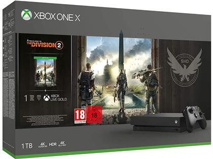 XBOX ONE X Console 1TB - Division 2 Bundle