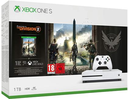 XBOX ONE S Console 1 TB - Division 2 Bundle