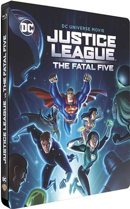 Justice League - Fatal Five (2019) (Day One Steelbook Edition, Limited Edition, Steelbook)