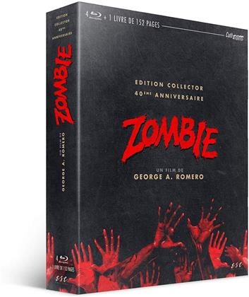 Zombie (1978) (40th Anniversary Edition, Collector's Edition, Blu-ray + 3 DVDs + Buch)
