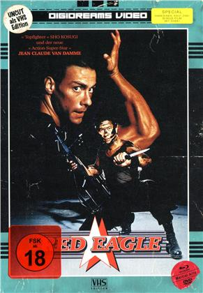 Red Eagle (1988) (VHS-Edition, Limited Edition, Mediabook, Uncut, Blu-ray + DVD)