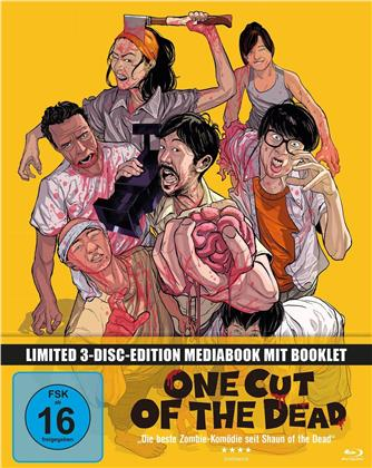 One Cut of the Dead (2017) (Limited Edition, Mediabook, Blu-ray + 2 DVDs)