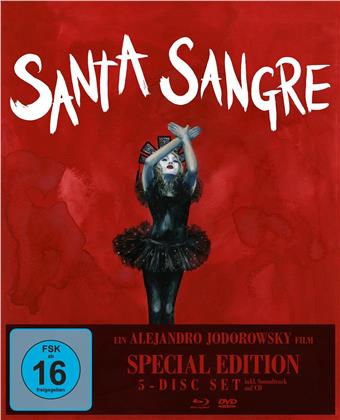 Santa Sangre (1989) (Special Edition, Blu-ray + 3 DVDs + CD)