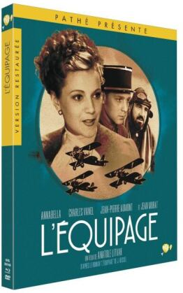 L'equipage (1935) (Limited Edition, Restaurierte Fassung, Blu-ray + DVD)