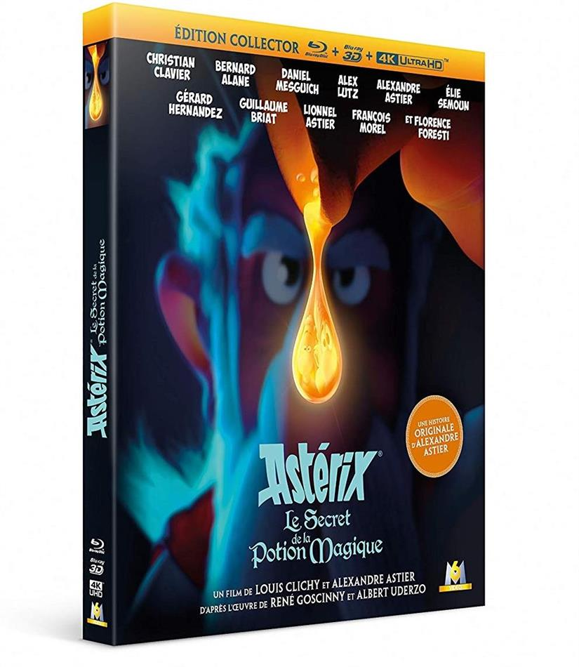 Astérix - Le secret de la potion magique (2018) (4K Ultra HD + Blu-ray 3D + Blu-ray)