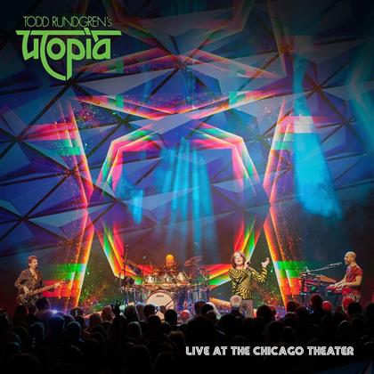 Todd Rundgren's Utopia - Live at the Chicago Theater (+ BR) (+ 2 CDs) (2 Blu-rays + 2 CDs)