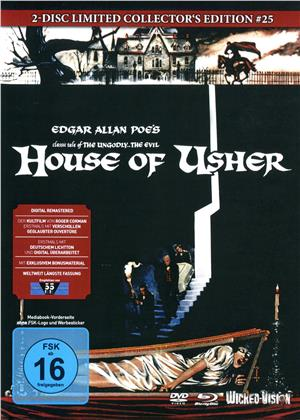 House of Usher (1960) (Cover E, Limited Edition, Mediabook, Blu-ray + DVD)